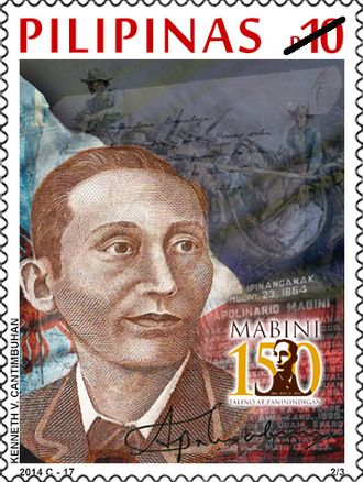 Apolinario Mabini - 2014 Philippine stamp showing Mabini