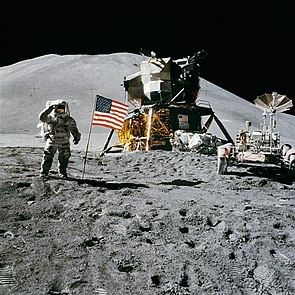 James Irwin, Apollo 15 ja Lunar Rover.