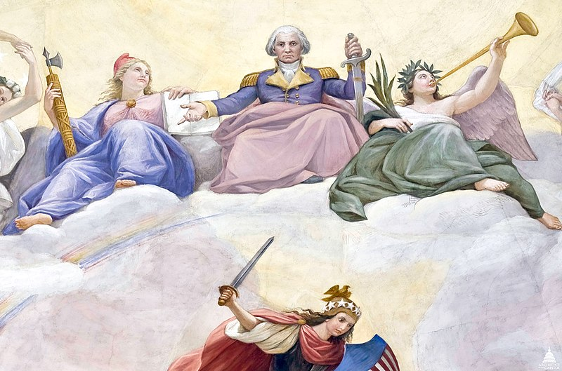 File:Apotheosis of Washington - Close up of George Washington (6881712763).jpg