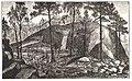 Appelgren Suomen muinaislinnat 1891 piirrustus Otralan linnavuoren varustuksista (kuva 52.).jpg