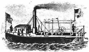 John Fitch (inventor) - Steamboat of April 1790 used for passenger service
