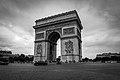 Arc de Triomphe de l'Étoile, 7 August 2013.jpg
