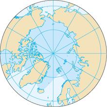 hvor ligger nordpolen