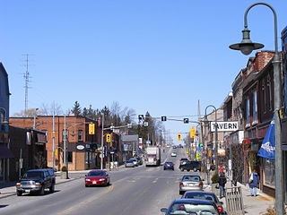 Caledonia, Ontario Unincorporated community in Ontario, Canada
