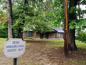 Scouting in Arkansas - Image: Arkadelphia Boy Scout Hut 001