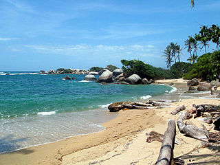 Tayrona National Natural Park Protected area in Colombias north Caribbean region