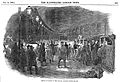 Arrival of cattle at Euston rail terminus, 1849. Wellcome L0002156.jpg