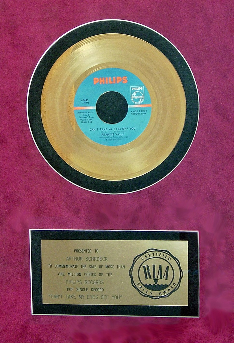 Artie%27s Gold Record