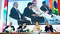 Arun Jaitley along with the Governor, Reserve Bank of India, Dr. Urjit Patel, the Chairman, Securities Exchange Board of India, Shri U.K. Sinha and the Dy. Governor, Reserve Bank of India, Shri R. Gandhi.jpg