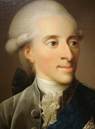 Frederick, Hereditary Prince of Denmark - Portrait by Jens Juel, 1785