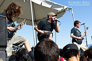 As Blood Runs Black - As Blood Runs Black performing at the Rockin' Roots Festival in Bakersfield, California in 2010