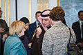 Assistant Secretary Patterson Chats With Saudi Arabian Foreign Minister al-Jubeir Before Hosting the International Syria Support Group Meeting in New York City (23746695581).jpg