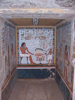 Qubbet el-Hawa - Tomb of Sarenput II.