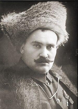White movement in Transbaikal - Ataman Semyonov in 1920