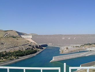 Southeastern Anatolia Project - Centerpiece of the project: Atatürk Dam