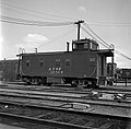 Atchison, Topeka, and Santa Fe, Caboose 1954R (15226891983).jpg