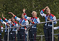 Athletes parade, Olympic and Paralympic, London 2012 (7990938157).jpg