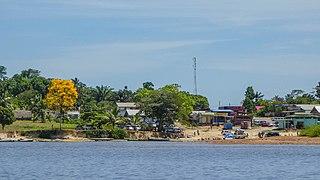 Pokigron Place in Sipaliwini, Suriname