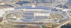 Atlanta Motor Speedway - Image: Atlanta Motor Speedway aerial 2006