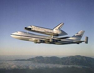Outsize cargo - Shuttle Carrier Aircraft