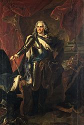 Louis de Silvestre: Augustus II the Strong in Armour