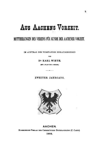 File:Aus Aachens Vorzeit 02 1889.djvu