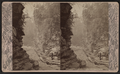 Ausable Chasm. The Pulpit and Island Rock, by G. W. Baldwin.png