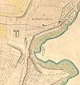 Aussfeld Markgröningen Karte von 1751-52 Ausschnitt Papiermühle.jpg