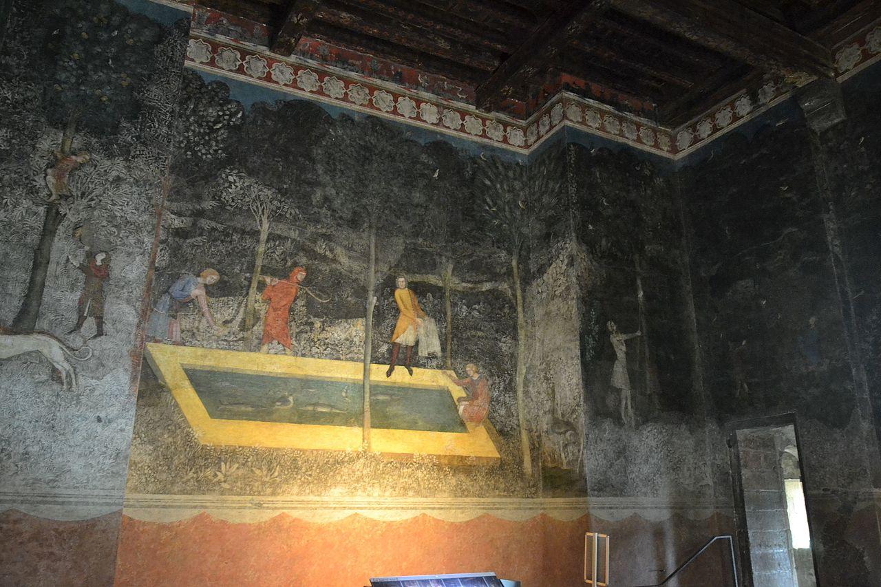 File avignon palais des papes chambre du cerf - Chambre agriculture avignon ...