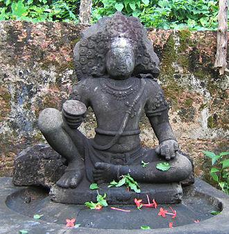 Ayyappan - Ayyappan at Mridanga Saileswari Temple, Muzhakkunnu, Kannur.