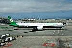 B-16731 Boeing 777-300ER Eva Air SFO 28-05-2017 (35704637972).jpg