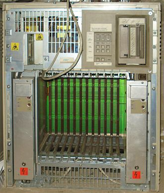 Q-Bus - DEC BA213 cabinet; 12 Q-Bus-22 slots