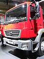 BHARATBENZ Heavy Duty Truck 3128 C side view cabin.Spielvogel.JPG