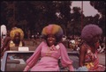 BLACK BEAUTIES WITH COLORFUL HAIR GRACE A FLOAT DURING THE ANNUAL BUD BILLIKEN DAY PARADE ALONG DR. MARTIN L. KING... - NARA - 556282.tif