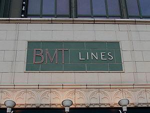 Brooklyn–Manhattan Transit Corporation - The Coney Island station entrance