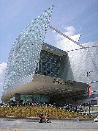 BOK Center - The BOK Center's iconic main entrance