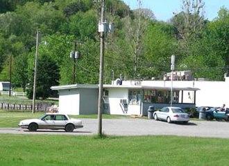 Scio, Ohio - Image: B & F Dairy Bar in Scio, Ohio (2006 05 20)