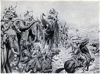 First Battle of Panipat - Babur introduced field guns at Panipat, 1526