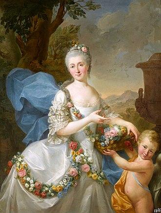 Stanisław Poniatowski (1754–1833) - Image: Bacciarelli Apolonia Ustrzycka and her son