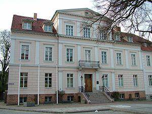 Bad Freienwalde - Bad Freienwalde Town hall