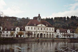 Bad Karlshafen - The city hall of Bad Karlshafen in Hessen, Germany