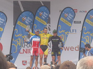 Baltic Chain Tour - Baltic Chain Tour 2012 – top 3 overall.