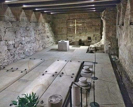 Bamberger Dom, Krypta unter dem Westchor