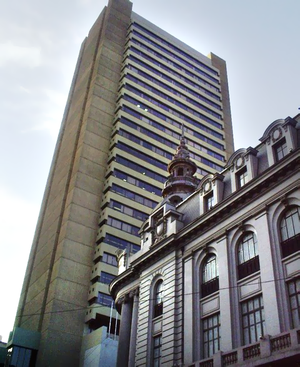 Central Bank of Bolivia - The Banco Central de Bolivia building in La Paz