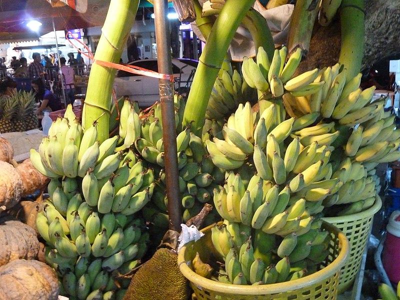 Banany w Bangkoku