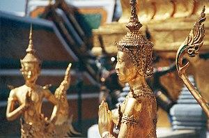 Kinnari at category:Wat Phra Kaeo