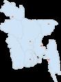 Bangladesh Premier League Teams Location-en.png