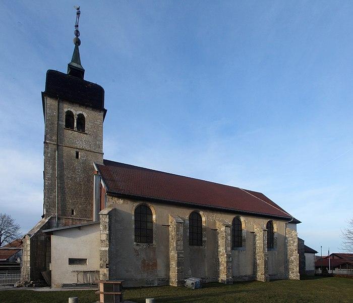 Eglise de Bannans (Doubs).