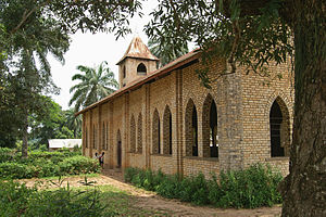 Religion in the Democratic Republic of the Congo - Baptist church, Vanga