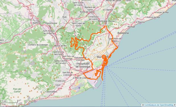 Carte Barcelone Place Despagne.Barcelone Wikipedia